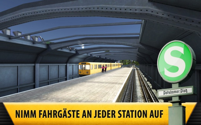 Subway Simulator 4 - Berlin U-Bahn Pro Screenshot