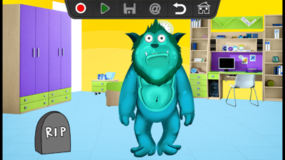 Junior Monster Story PRO - Cartoon Movie Creator screenshot four