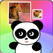 熊猫宝宝小博士拼图益智游戏 - 儿童幼儿学拼动物