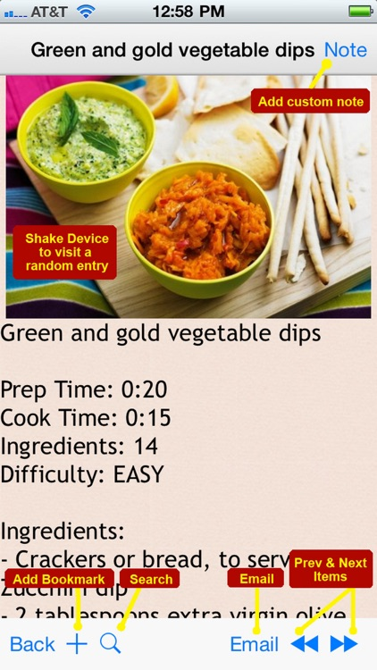 250 Delicious Dip Recipes screenshot-4