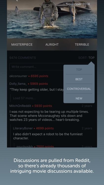 Kernels - Movie Discussions on Reddit