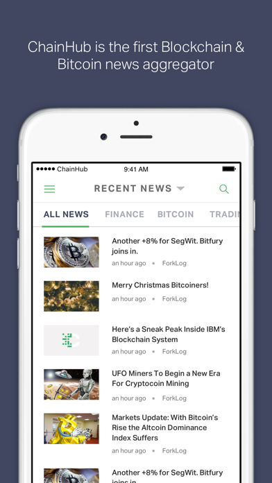 ChainHub — Blockchain and Bitcoin News Aggregator