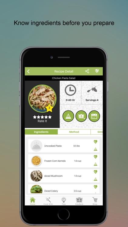 Salad Recipes SMART Cookbook screenshot-3