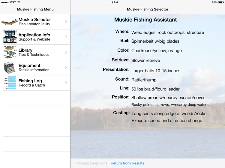 Muskie Fishing Pro screenshot-1