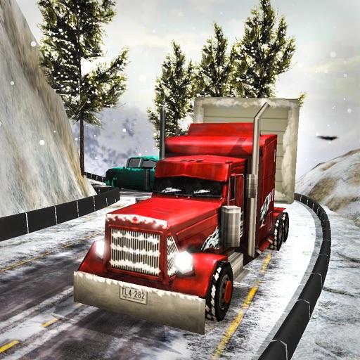 Большой снег грузовик симулятор: Грузовой автомоби