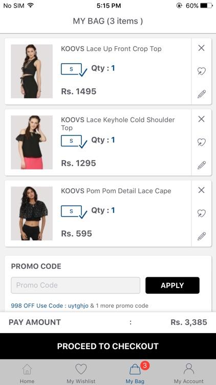 Koovs - Online Shopping App screenshot-3