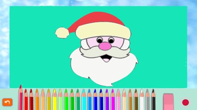 圣诞老人- 圣诞-画画-圣诞礼物,圣诞快乐-画画板游戏·幼儿涂鸦·宝宝填色·早教 ,儿童学画画免费屏幕截圖1