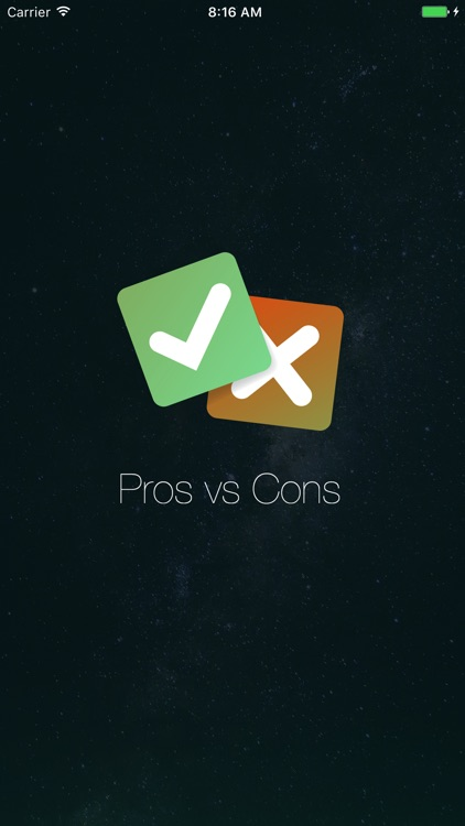 Pros vs Cons app screenshot-4
