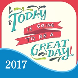 Today is Going to Be a Great Day! Page-A-Day 2017