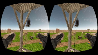 VR Gunship Rescue Helicopter Battle screenshot 2
