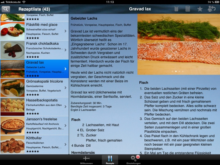 Köttbullar - Die Koch-App screenshot-1
