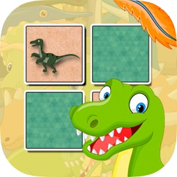 Dinosaurus Find the Pairs Learning & memo Game
