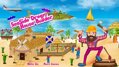 Seaside Dream House Builder screenshot one