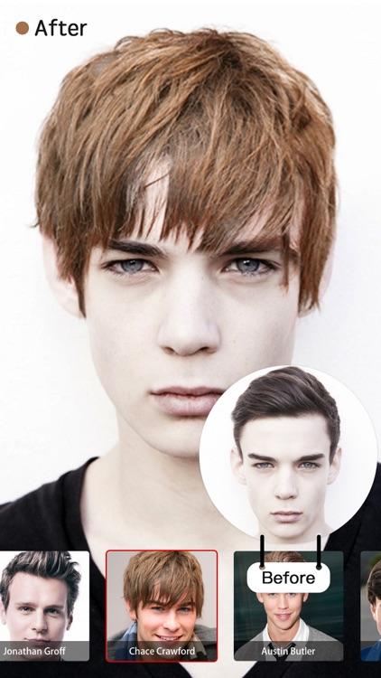 Pop Star Hair Salon:Swap Face&Hairstyle with Stars screenshot-3