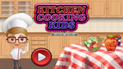 Kids Burger & Cupcake Mania app image