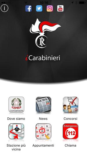 applicazione my site carabinieri