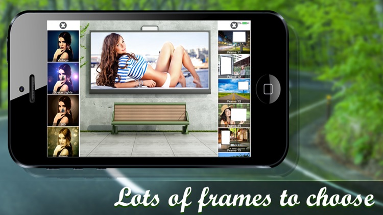 Hoarding frames – Photo frames, pic effects editor
