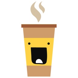 Cute Coffee Emojis Sticker Pack