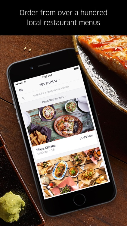 UberEATS: Uber for Food Delivery app image