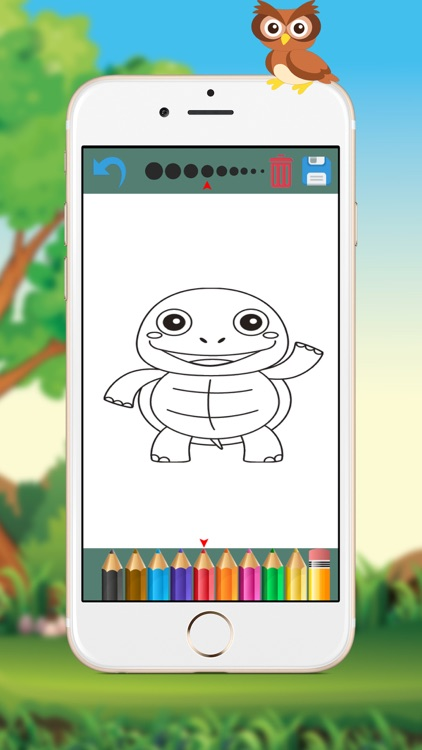 Animals, Coloring Book for Kids screenshot-4
