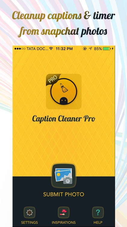 Clean Caption Pro for Snapchat Photos