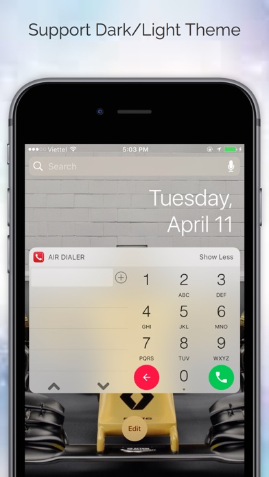 Air Dialer Pro - Fastest Dial Phone Widget Screenshot