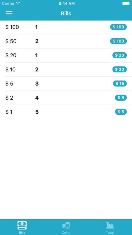 Cashier Helper - Count your cash easily
