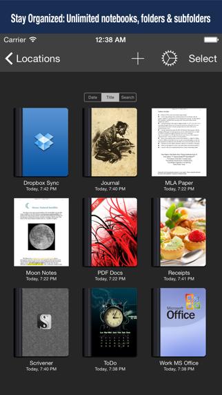 Textilus Pro Word Processorのおすすめ画像2