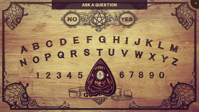 Spirit Board Very Scary On The App Store