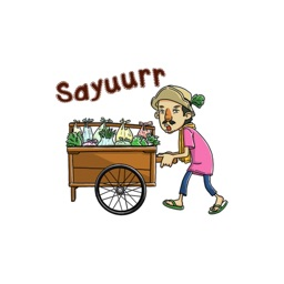 Mansyur Tukang Sayur stickers by yogadanu