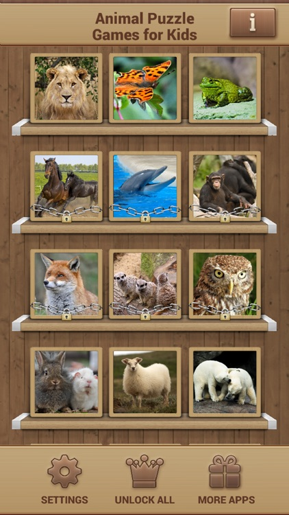 Animal Puzzle Games - Fun Jigsaw Puzzles