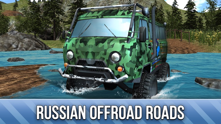 UAZ 4x4 Offroad Rally Full - Try Russian SUV
