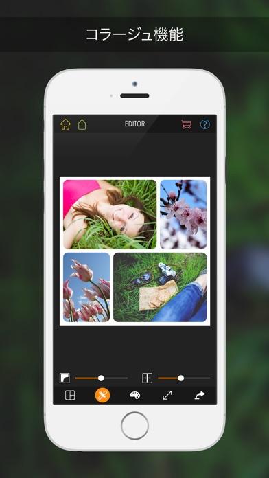 PicPoc フォトエディター: コラージュ編集 & 画像加工紹介画像3