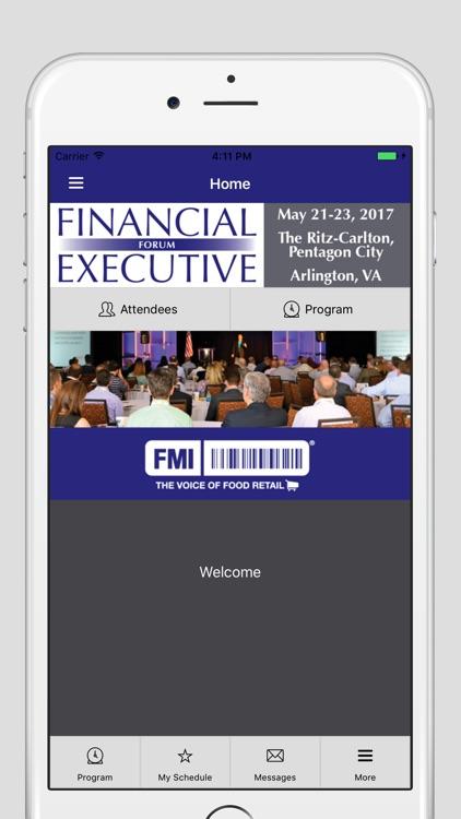2017 FMI Financial Executive Forum app image