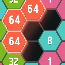 Connect Hexa Puzzle - Matching Numbers
