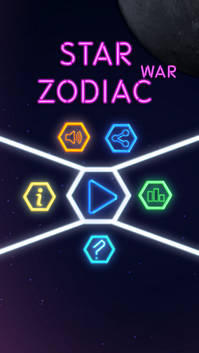 Zodiac signs star - War defense of the astrology screenshot two