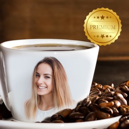Coffee Cup Photo Frame Editor PRO