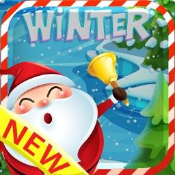 Winter Sata match 3 - Fun frozen making fever