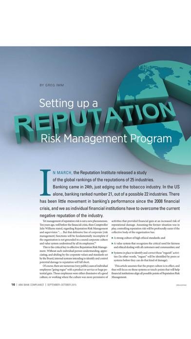 ABA Bank Compliance magazine-1