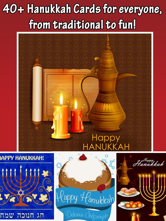 Happy hanukkah cards greetings wishes app price drops screenshot 2 for happy hanukkah cards greetings wishes m4hsunfo
