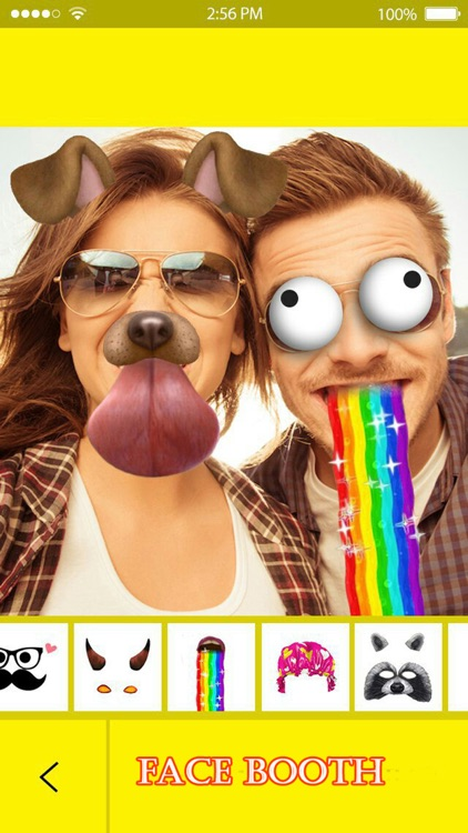 Funny Face - Swap Filters Pic Effects Photo Editor screenshot-3