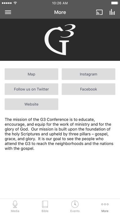 G3 Conference screenshot 3