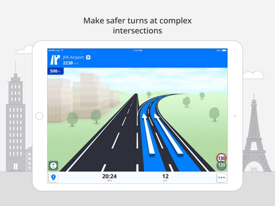 Screenshot #5 for Sygic World: GPS Navigation, Maps & Traffic