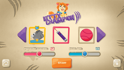 Kitty Champion - Game for Cats screenshot one