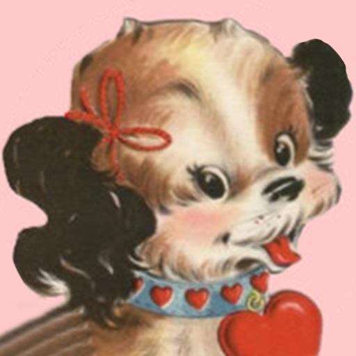 Valentine's Day Stickers - Vintage Edition