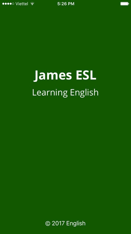 Learning English with James ESL EngVid 2017