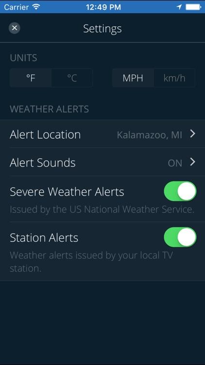 Newschannel 3 Severe Weather Center screenshot-3