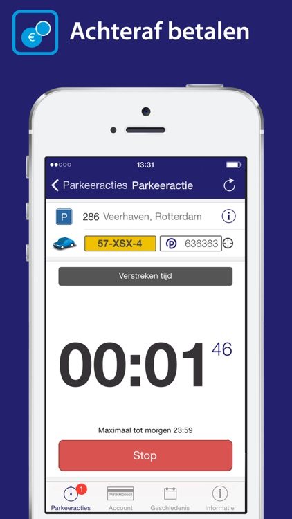 Park-line App screenshot-1