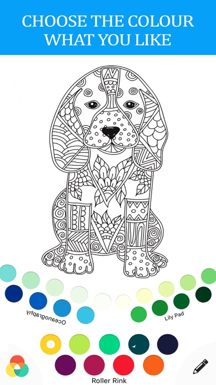 anti stress color therapy - adult coloring book screenshot-4
