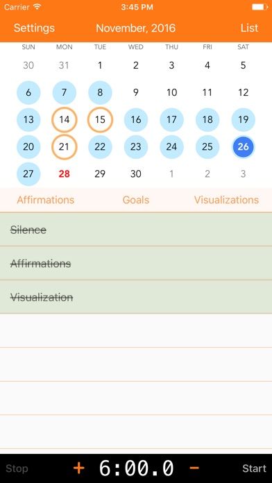 miracle list free morning routine tracker by gary simpson ios